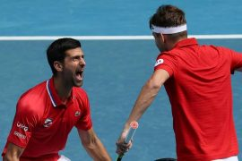 ATP Cup: Djokovic leads Serbia to victory