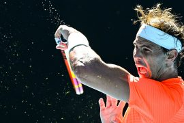 Rafael Nadal steht in Runde zwei der Australian Open.