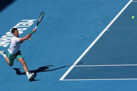Australian Open: Novak Djokovic wins the match