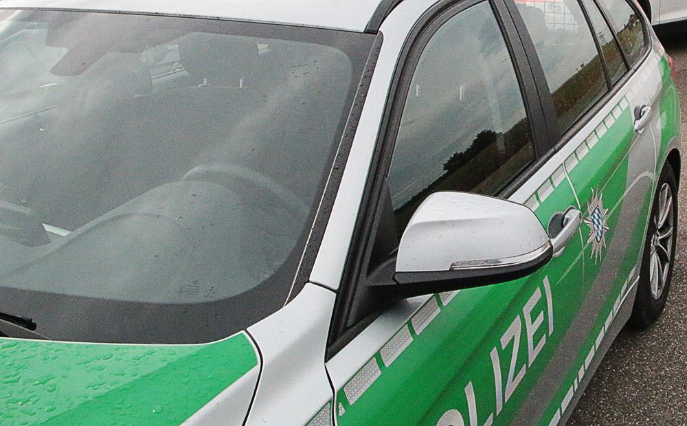 Police car green