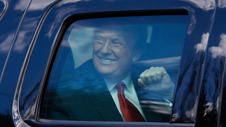 Donald Trump announces first appearance after presidential termination