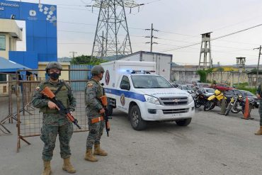 Ecuador: More than 50 dead in prison rebels