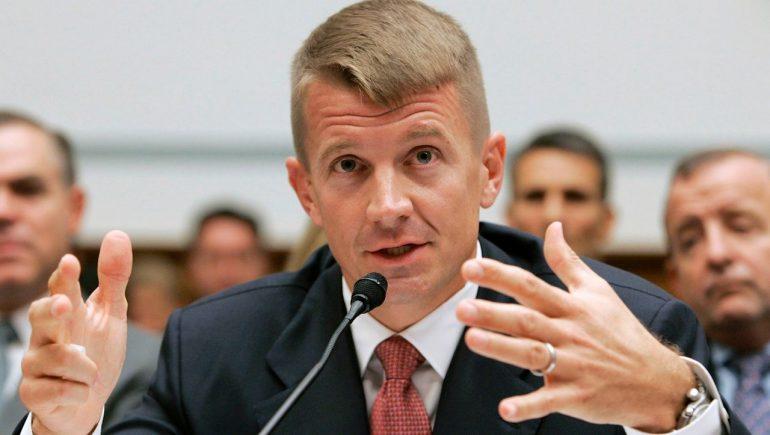 Eric Prince: Blackwater founder involved in mercenary mission in Libya