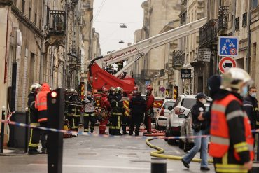 Fire brigade in search of missing: violent explosion rocked Bordeaux