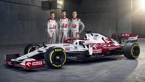 Formula 1: Alfa Romeo C41 presented