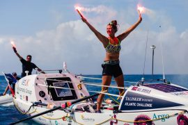 Great Britain: 21 year old is the youngest woman to cross the Atlantic alone