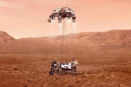 Livestream Report on Planned Landing on Mars