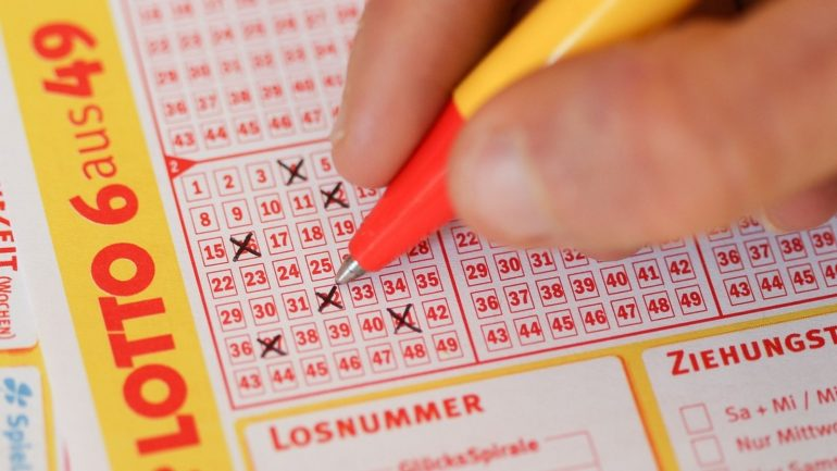 Luck: Kulbachurin won the lottery twice with one ticket