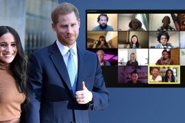 Meghan and Harry Crash the Zoom Switch: A Surprise for Young Poets - Royals