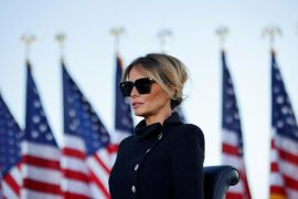Melania Trump opens her office - Donald Trump is already one
