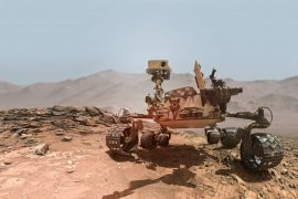 NASA released video of Rover's fortitude