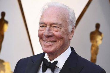 Oscar winner Christopher Plummer is dead