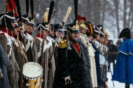 Russia and France: Napoleon's final honor for falling from Russian campaign