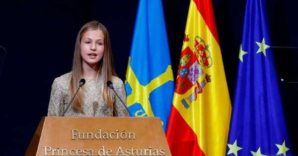 Spanish Crown Princess attends boarding school in Wales next school year