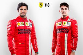 Sprint GP: Lechler & Sainz (Ferrari) Emotion Danger / Formula 1