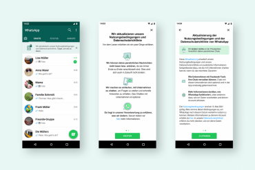 WhatsApp and User Data: Campaign for New Terms of Use