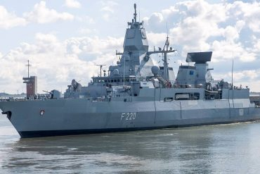 Germany sends frigates to Indo-Pacific region