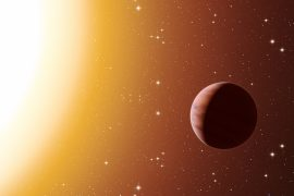 Exoplanet is hotter than some stars