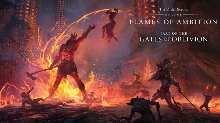 """Elder Scrolls Online - """"Ambition of Flames"""" DLC delivers two new dungeons, a new champion system and more for PC / Mac"""