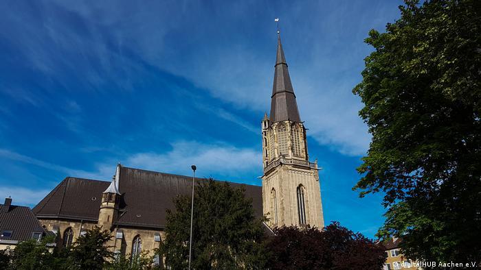 Digital Church in Aachen from outside
