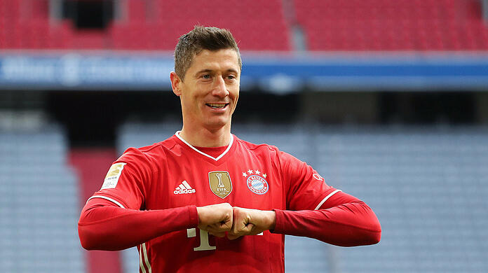 Inevitable for FC Bayern: World footballer Robert Lewandowski