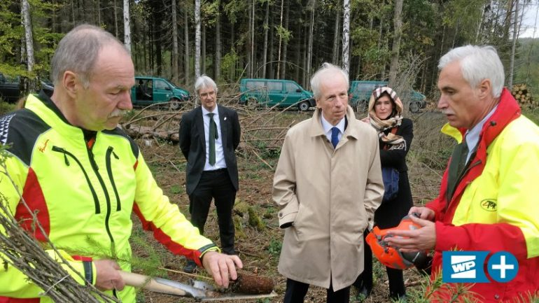 Ambassador in Arnsburg: Canada, Cooperation and Climate Change