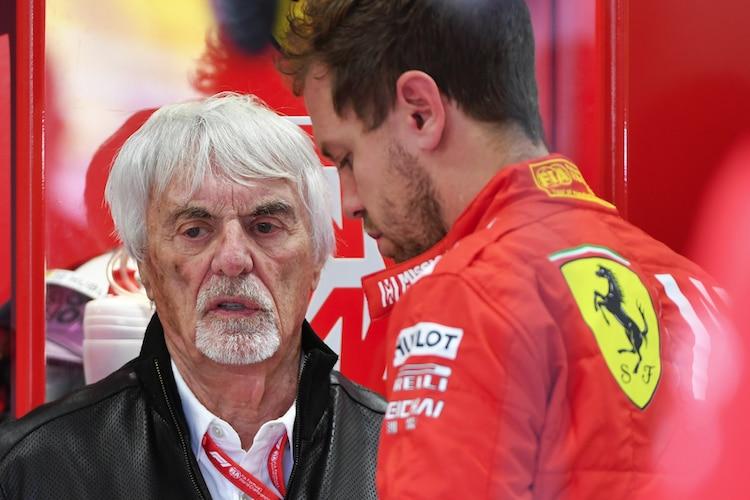 "Bernie Ecclestone: ""Vettel didn't love Ferrari"" / Formula 1"