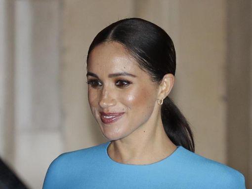 Meghan, Herzogin von Sussex, setzt sich gegen Mobbing-Vorwürfe zur Wehr. Foto: Kirsty Wigglesworth/AP/dpa Foto: dpa