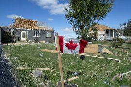 Canadian teen dies due to tornado
