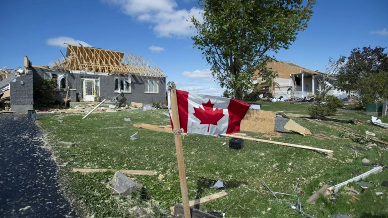 Canadian teen dies due to tornado