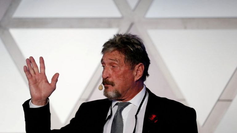 Crooked deals with cryptocurrency: John McAfee faces a lengthy prison sentence