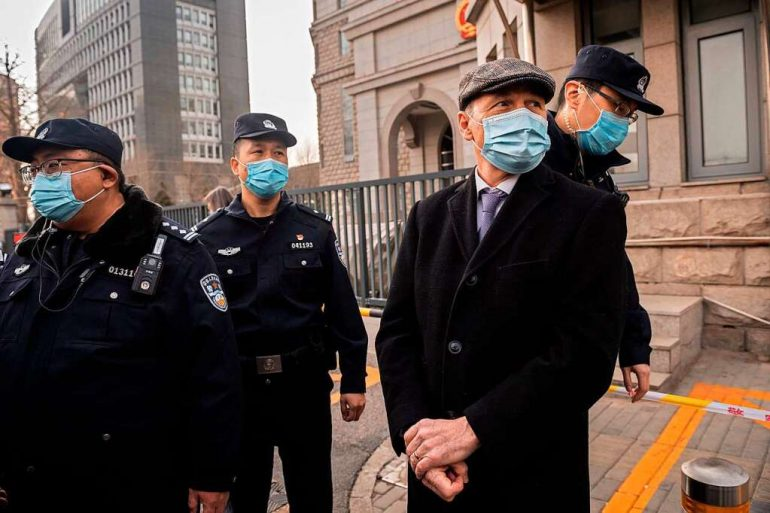 """Diplomats accuse Beijing of """"hostage diplomacy"""" - abroad"""