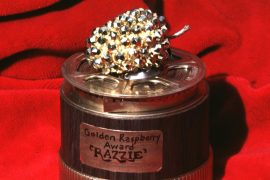 "Double Nominated!  Will this former politician get ""Golden Raspberry""?  - movie theater"