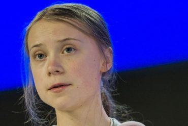 Greta Thunberg who criticizes Biden's climate policy