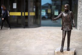 Greta Thunberg's statue in Great Britain causes controversy at the university