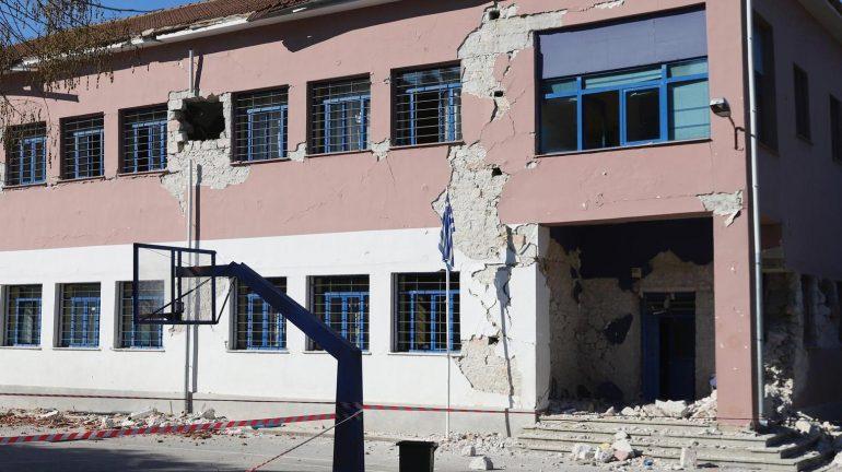 Larissa earthquake of 6.3 magnitude