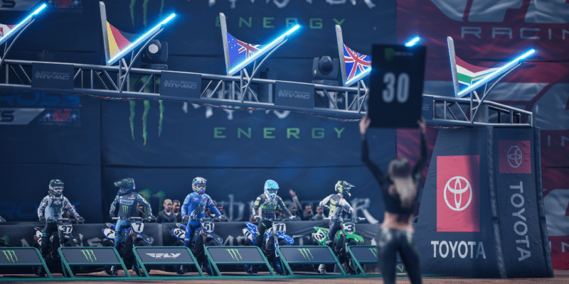 Monster Energy Supercross 4 – Now Playable for Pre-Orders