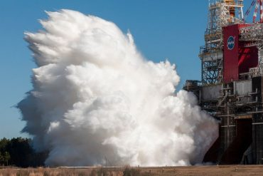 NASA: Rocket engines successfully tested for new lunar program