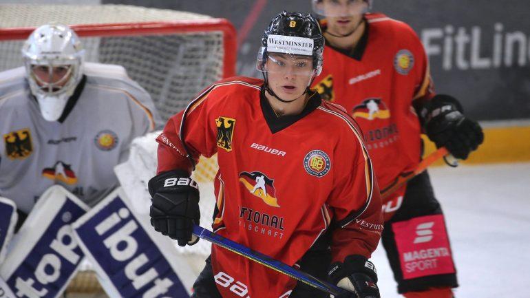 """Natural Talent"" Tim Stutzl - German Ice Hockey Before Historic NHL Draft - Ice Hockey"