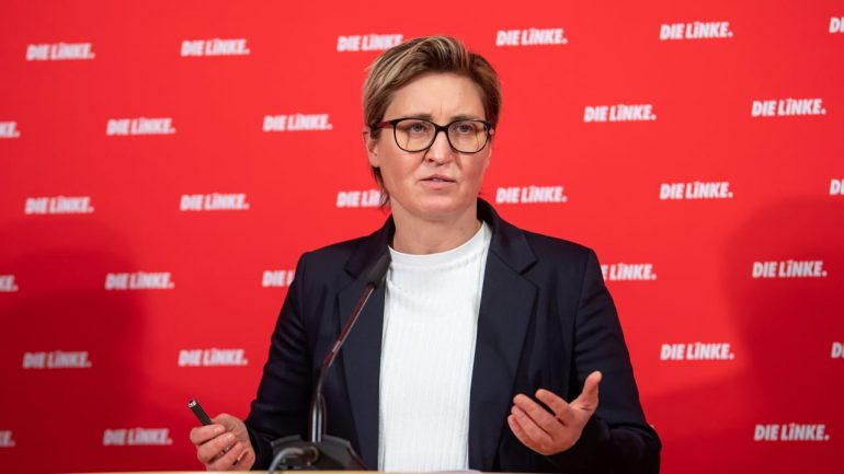 No idea of ​​Bundeswehr mission: New Left leader embarrassed - domestic politics