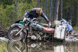 Overland to New York on DVD / motocross