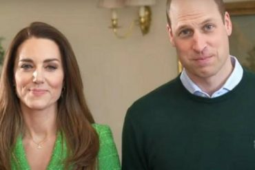 Prince William and Duchess Kate greeted him on St. Patrick's Day