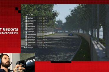 Russell Wins Ultimate Formula 1 Virtual GP