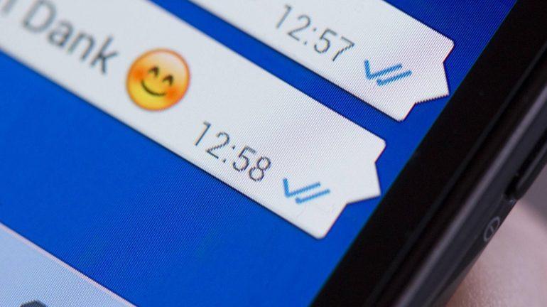Secret Change?  No more blue ticks for voice messages