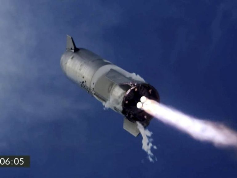 The SpaceX rocket landed for the first time - and then exploded.  free Press