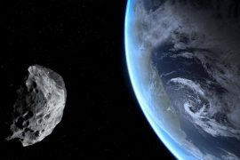 The asteroid flies 124,000 km / h from Earth - it will return in 2052