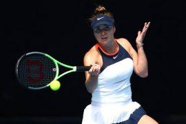 WTA Report: Elena Switolina's Fall, No. 1 in Dubai's Opening Game