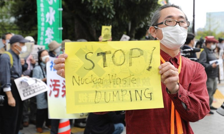 China will monitor Japan's decision