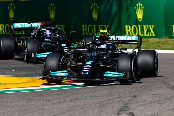 Formula 1 News: Valtteri Bottas with the best time in practice 1 - Crash Formula 1 news between Perez and OCON