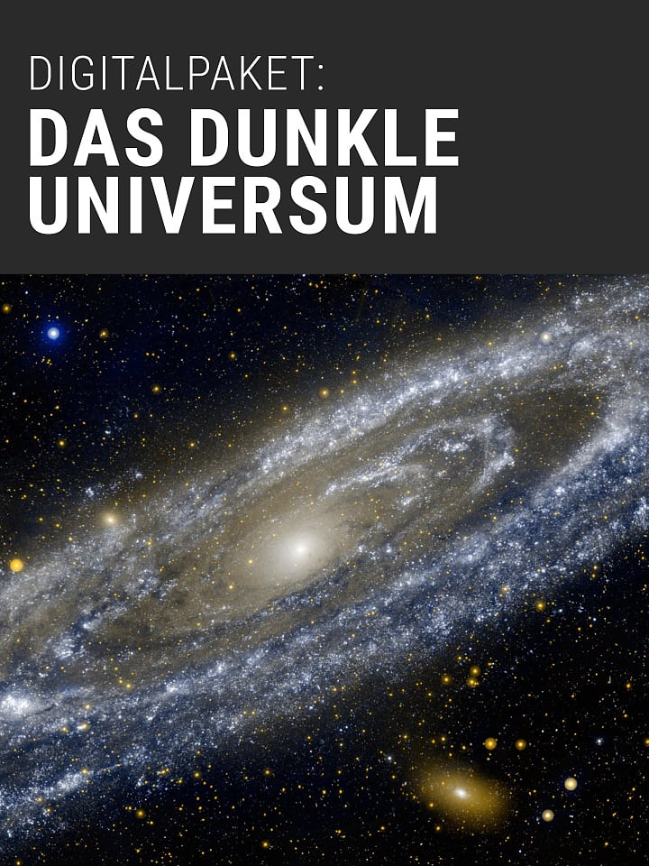 Booklet Cover Spectrum of Science Digital Package: The Dark Universe